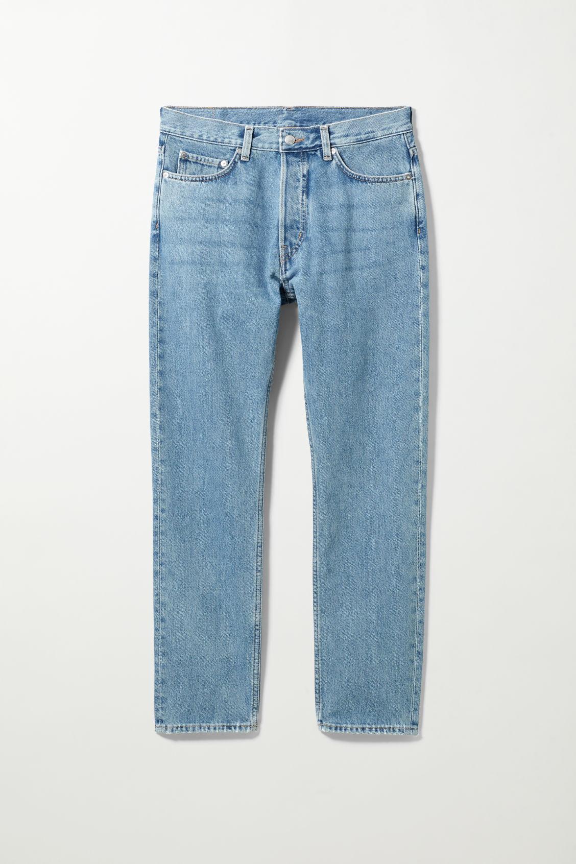 Pine Regular Tapered Jeans - Blue