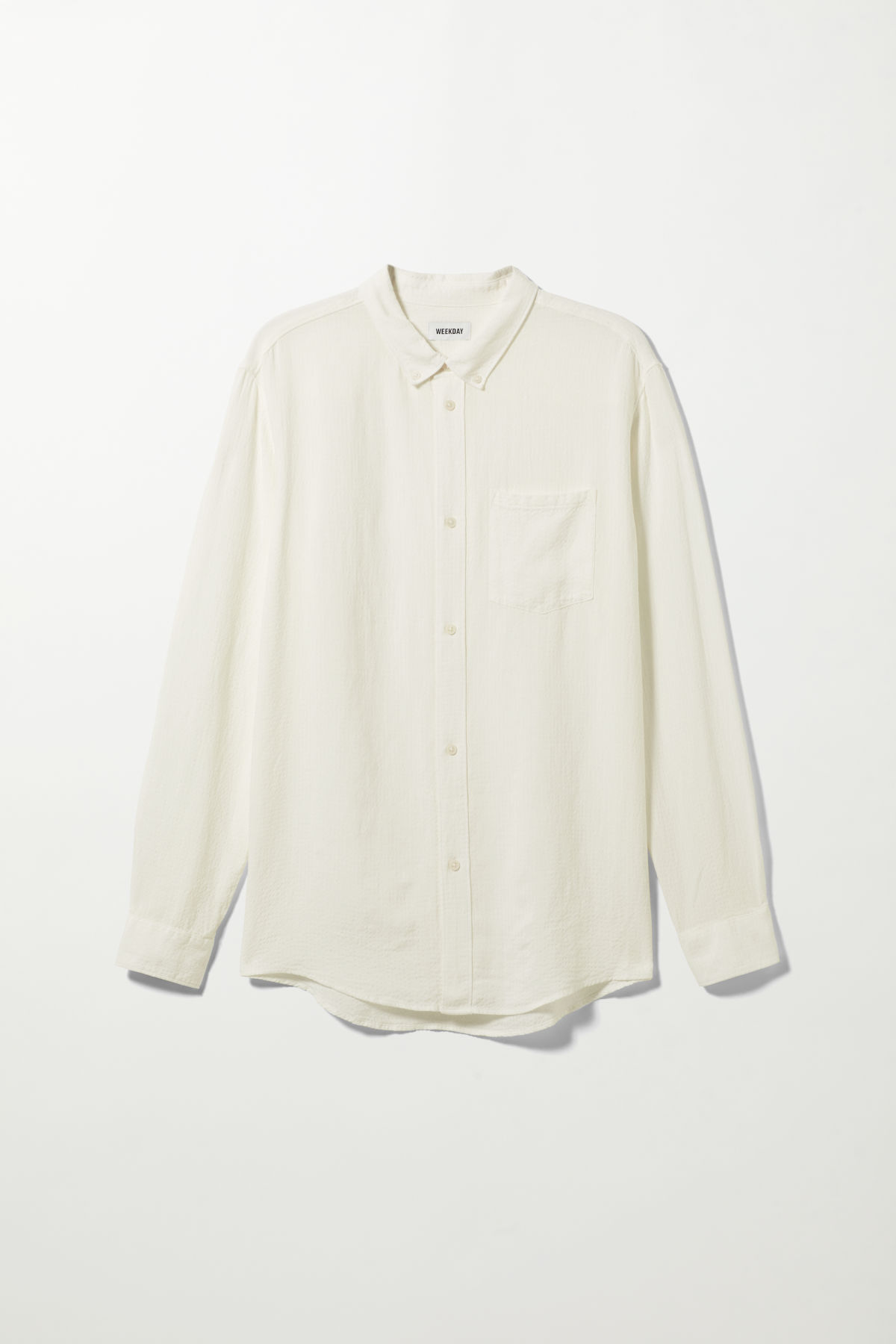 Malcon Structured Shirt - White