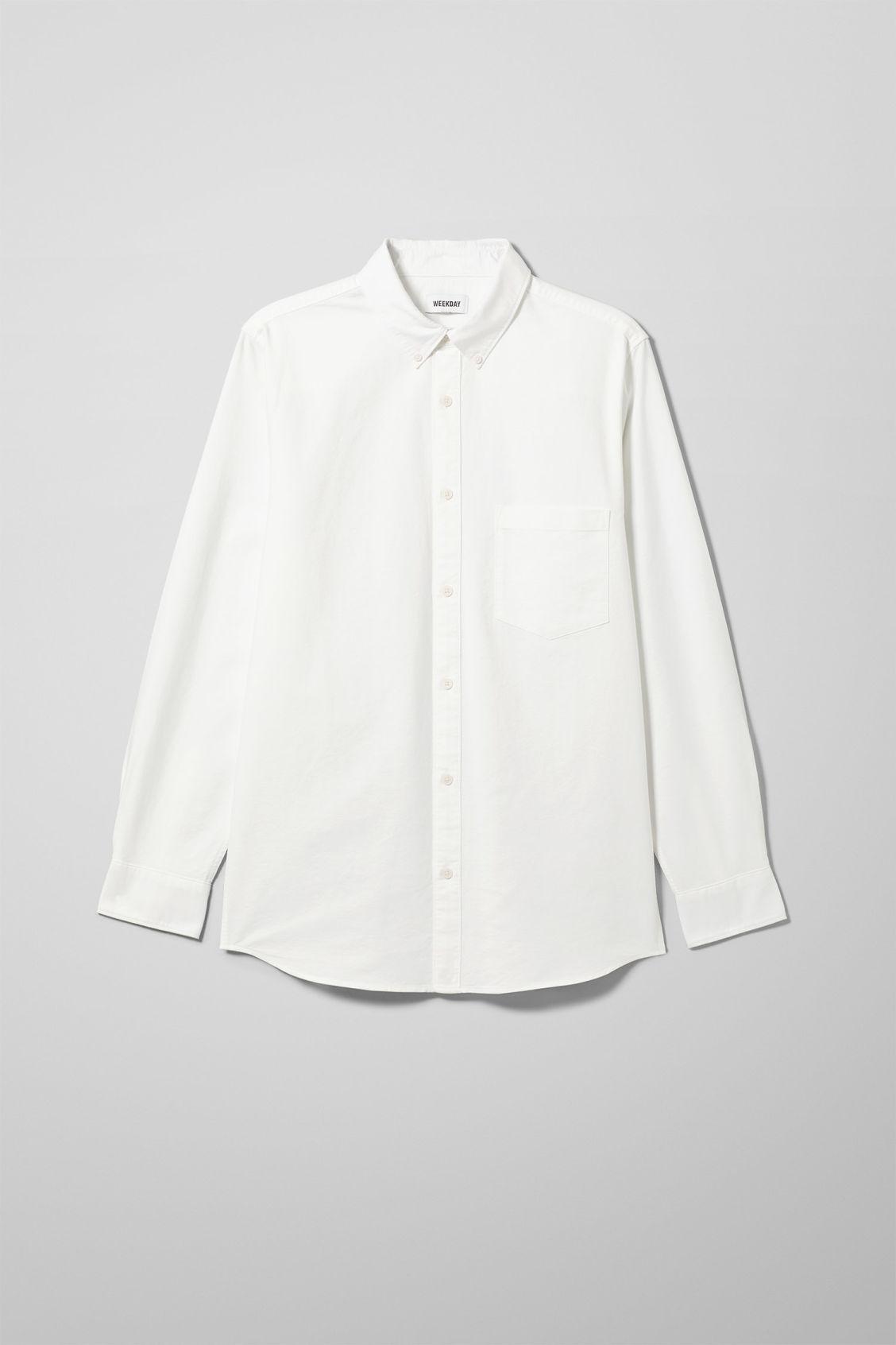 Henning Oxford Shirt - White