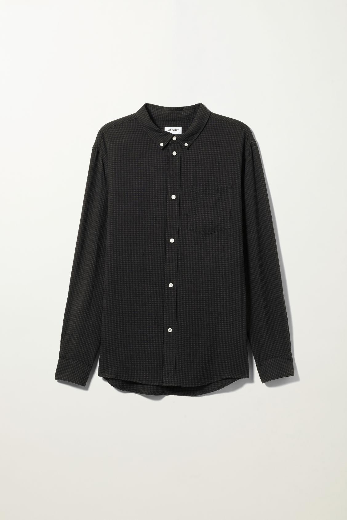 Malcon Structured Shirt - Black