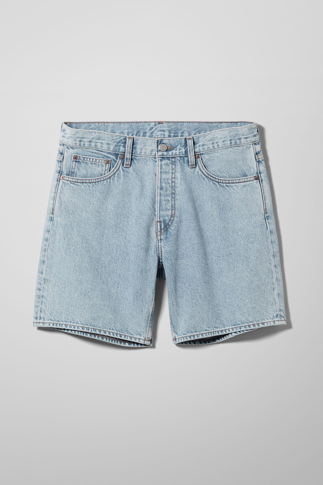 Vacant Denim Shorts - Blue