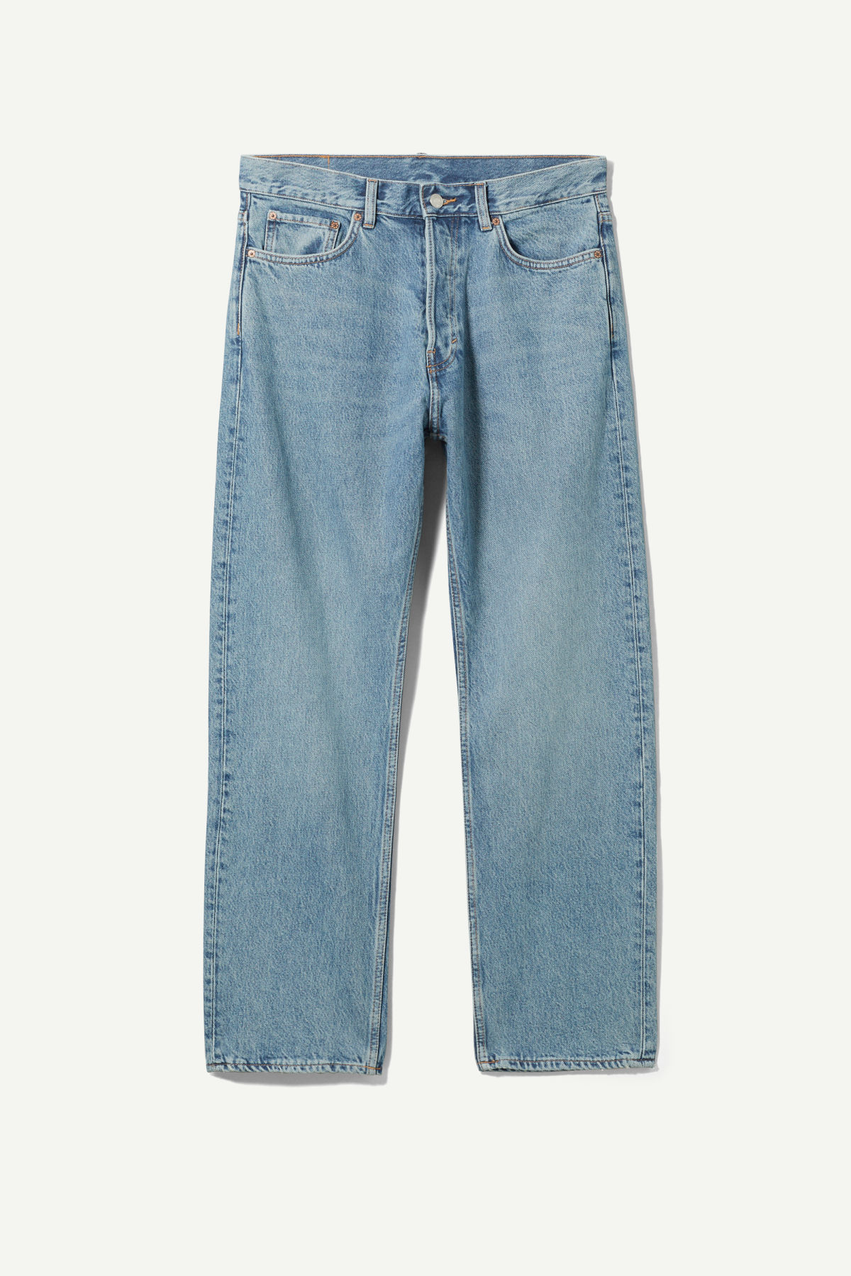 Space Relaxed Straight Jeans - Blue