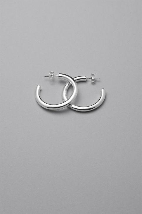 Weekday - Ring Hoop Earrings - 1