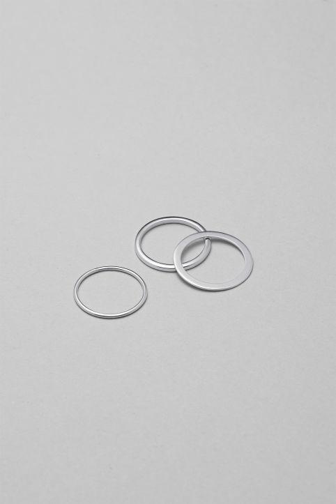 Weekday - Vertigo Ring Set - 1