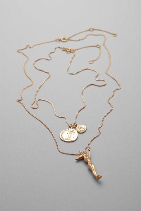 Weekday - Mystic Pendant Necklace Set - 1