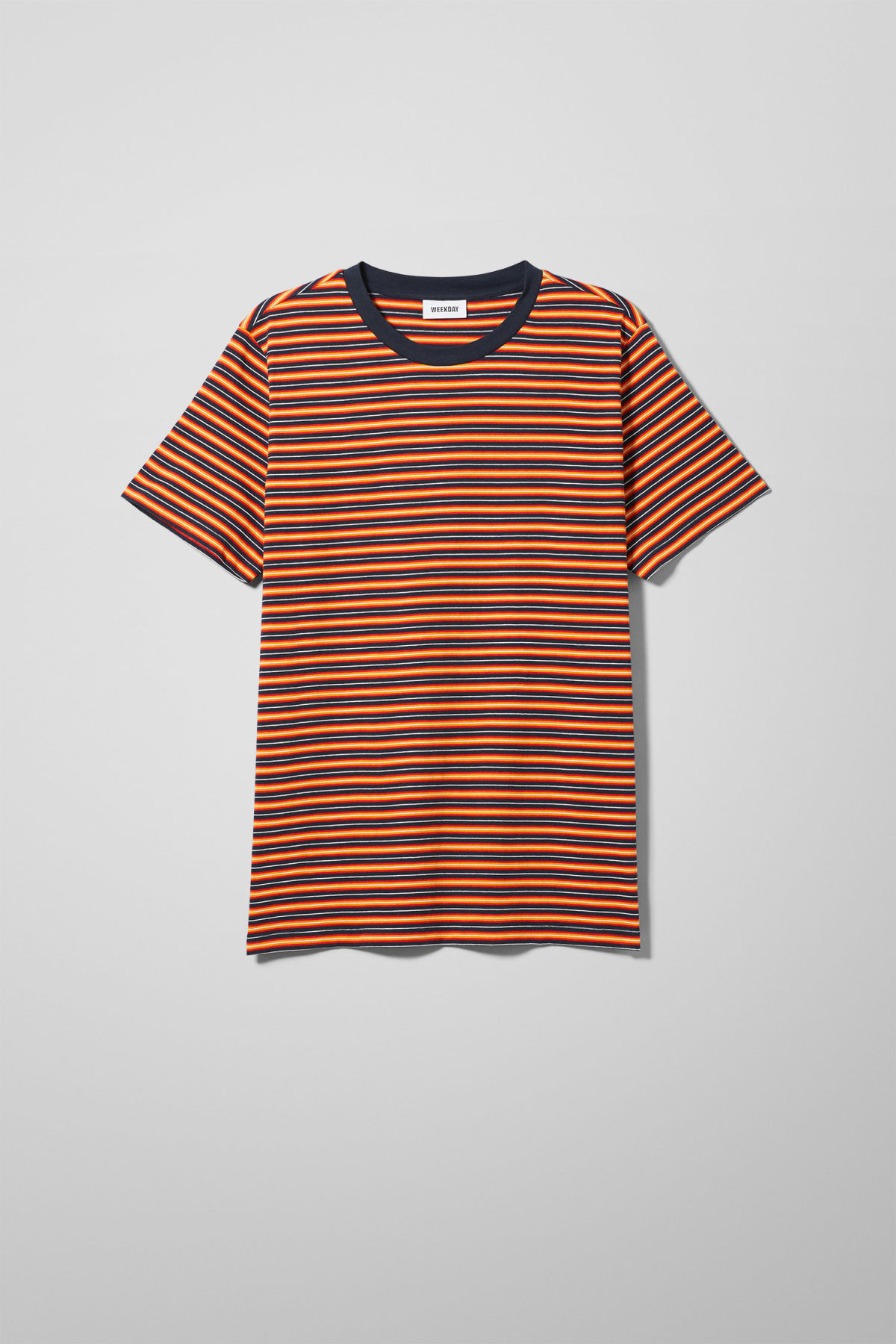 Home Stripes T-shirt - Red