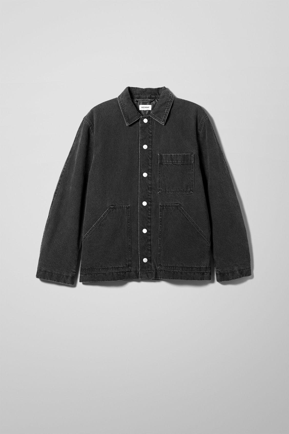 Jess Quilted Jacket Black - Black