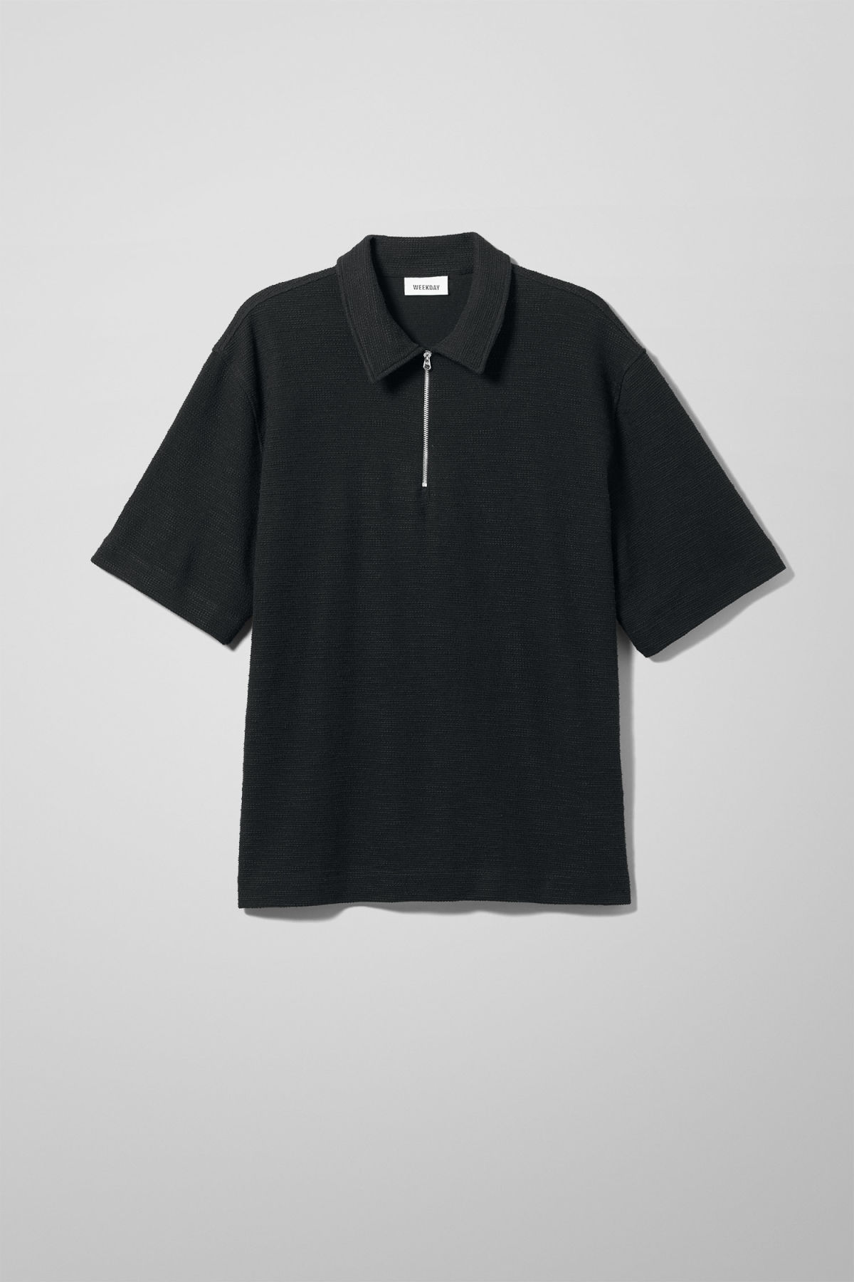 Nilo Halfzip Short Sleeve - Black