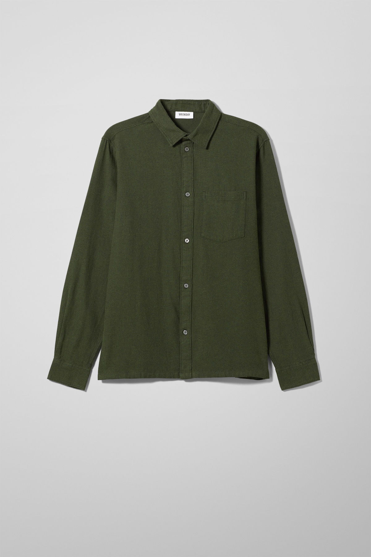 Wise Flannel Shirt - Green