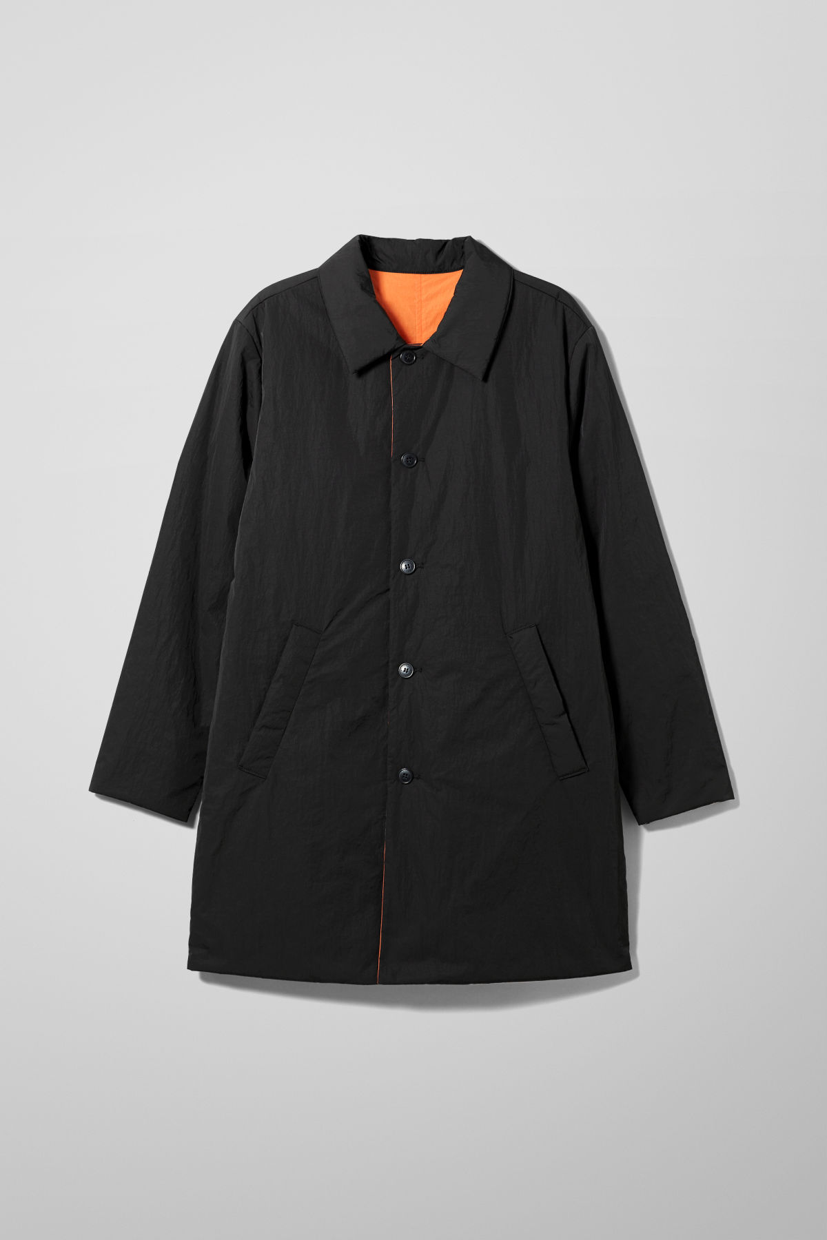 Marty Reversible Coat - Black
