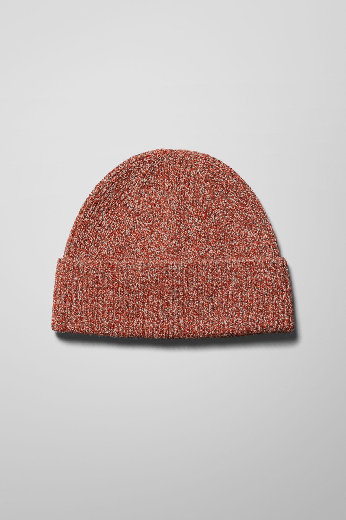 Map Knit Beanie - Orange
