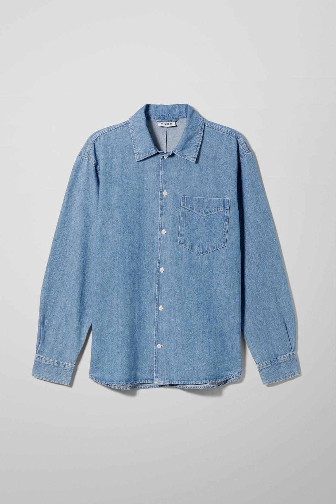 Polly Dream Blue Denim Shirt - Blue