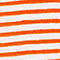 Fabric Swatch image of Weekday base boxy striped t-shirt in orange