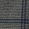 Fabric Swatch image of Weekday charlie checked trousers  in black