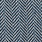 Fabric swatch No Angle Image of Weekday Roland Herringbone Overshirt in Blue