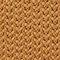 Fabric swatch No Angle Image of Weekday Brock Half Zip Long Sleeve in Yellow