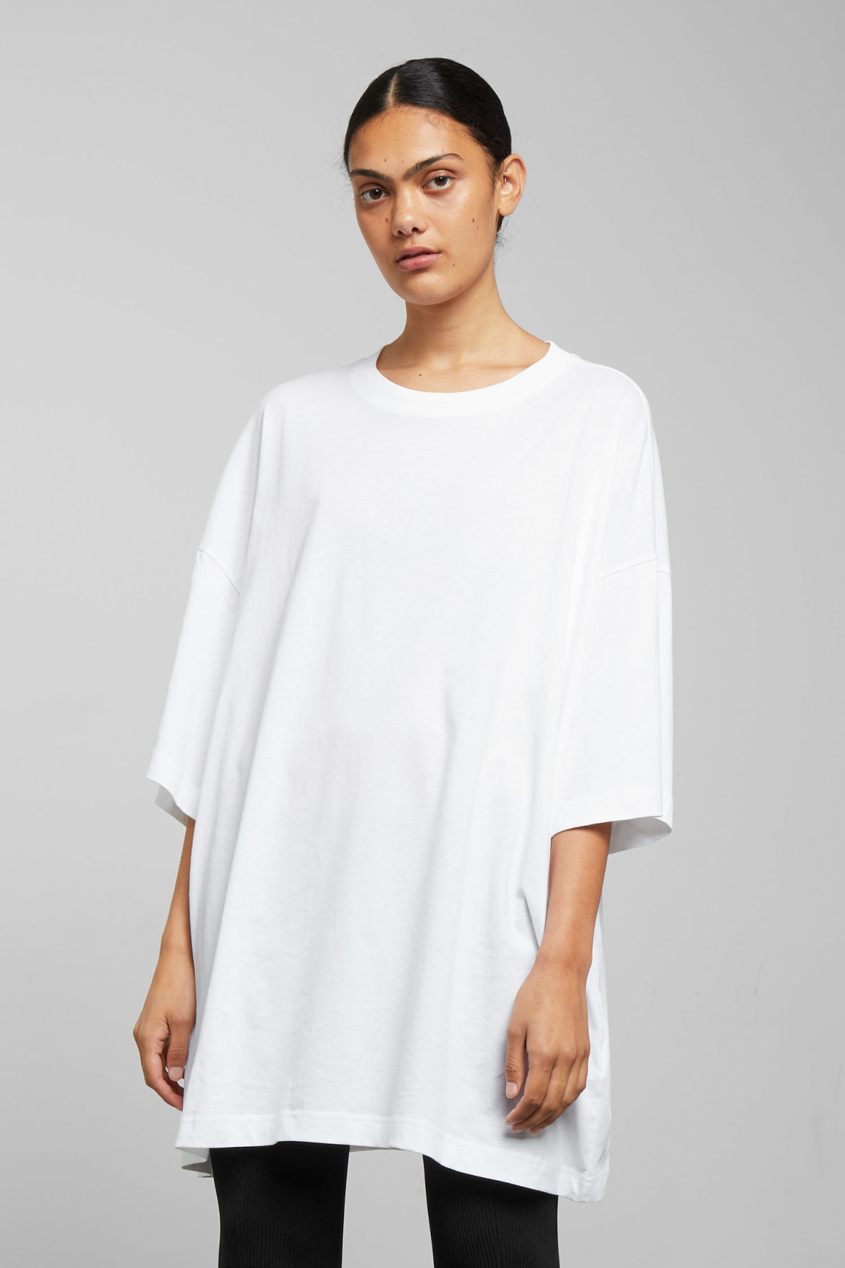 43a4e3396d2 Huge T-shirt Dress - White - Dresses   Jumpsuits - Weekday