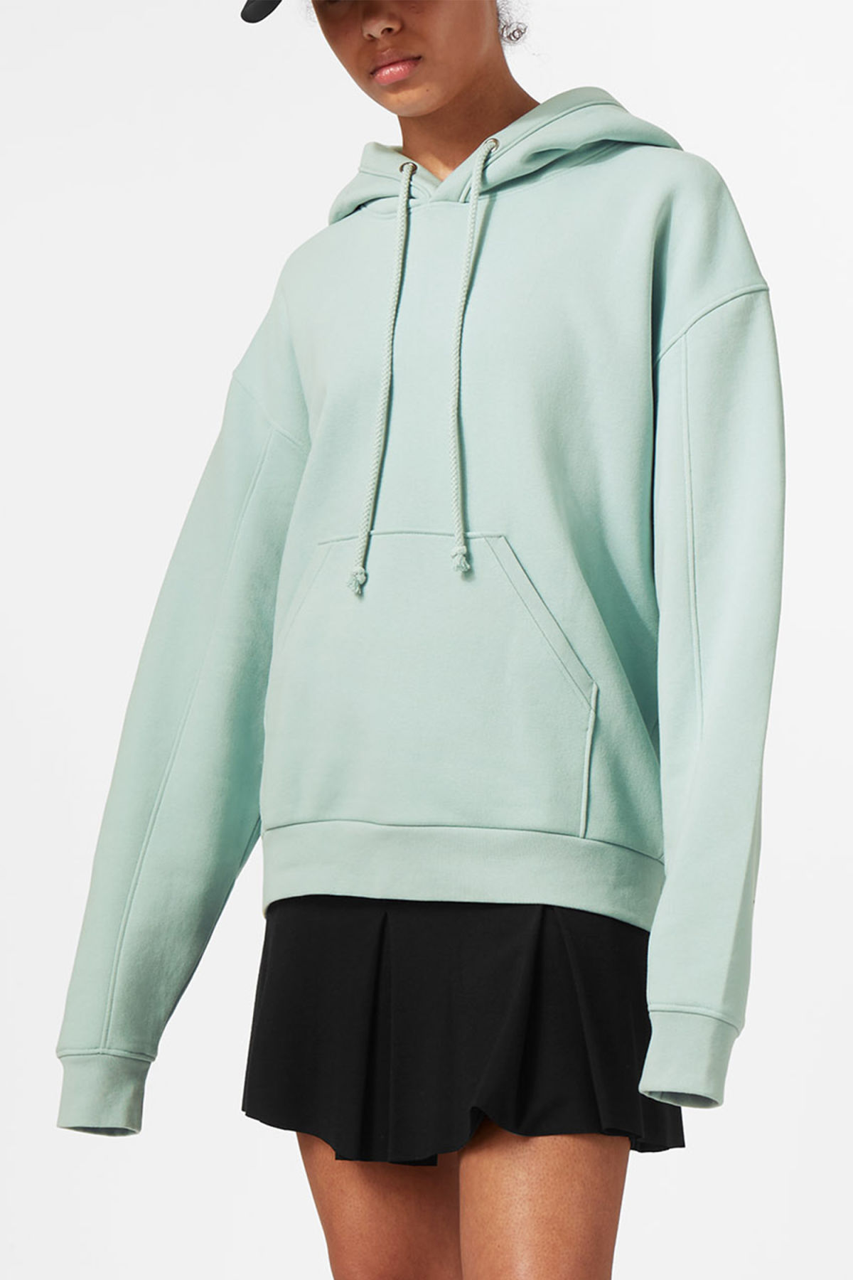 Discount Largest Supplier Weekday Ailin Hooded Sweatshirt - Turquoise Discount Browse Excellent Online MECKj