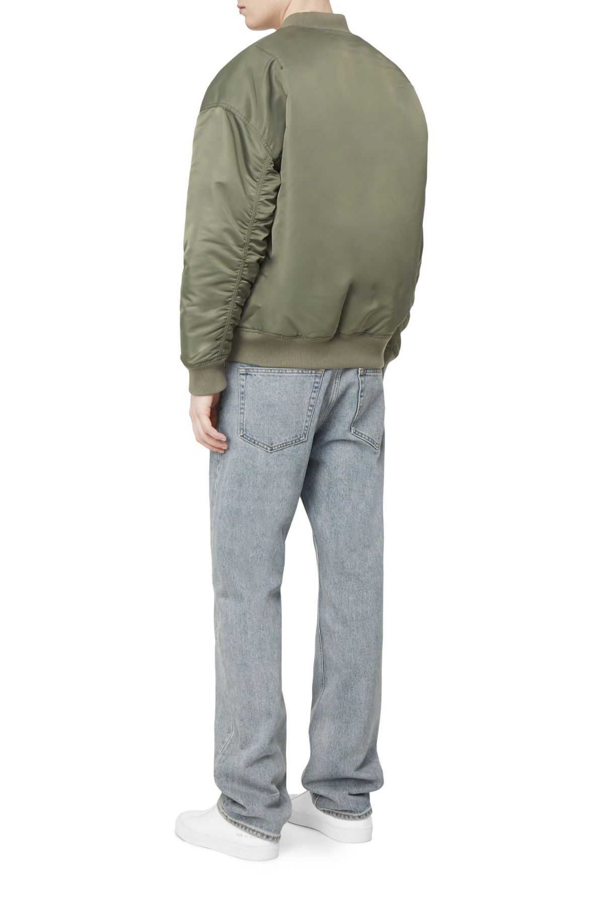 Model front image of Weekday big bomber in green