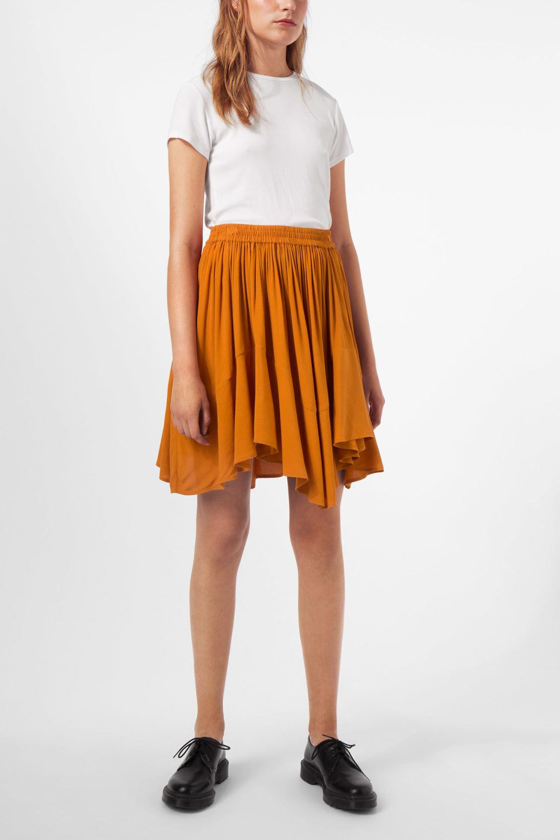 Weekday Minna Skirt - Yellow Sale Amazing Price 7Xvz0S8UQt