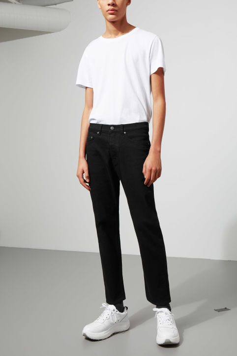 Cheap Monday In Law Deep Black Jeans