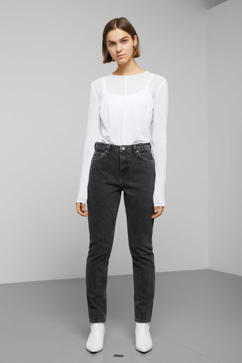 Weekday Seattle Trotter Black Jeans