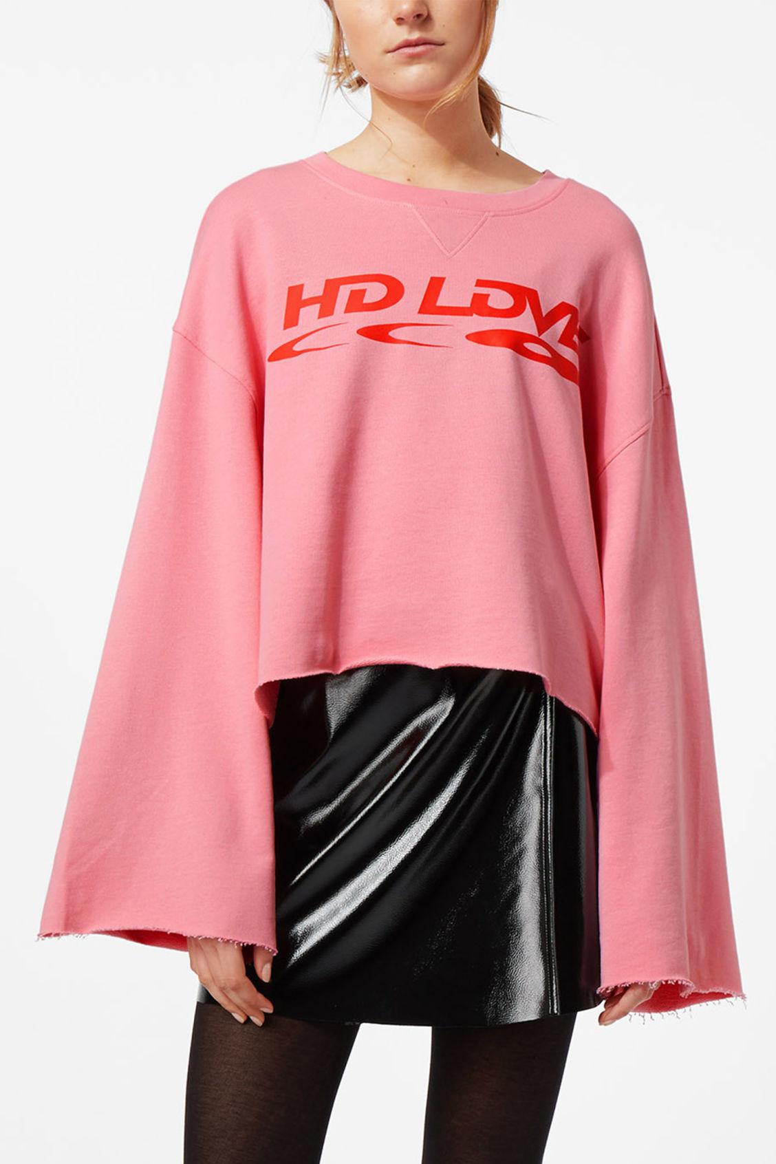 WeekdayVERA - Sweatshirt - pink dIofJAsr0
