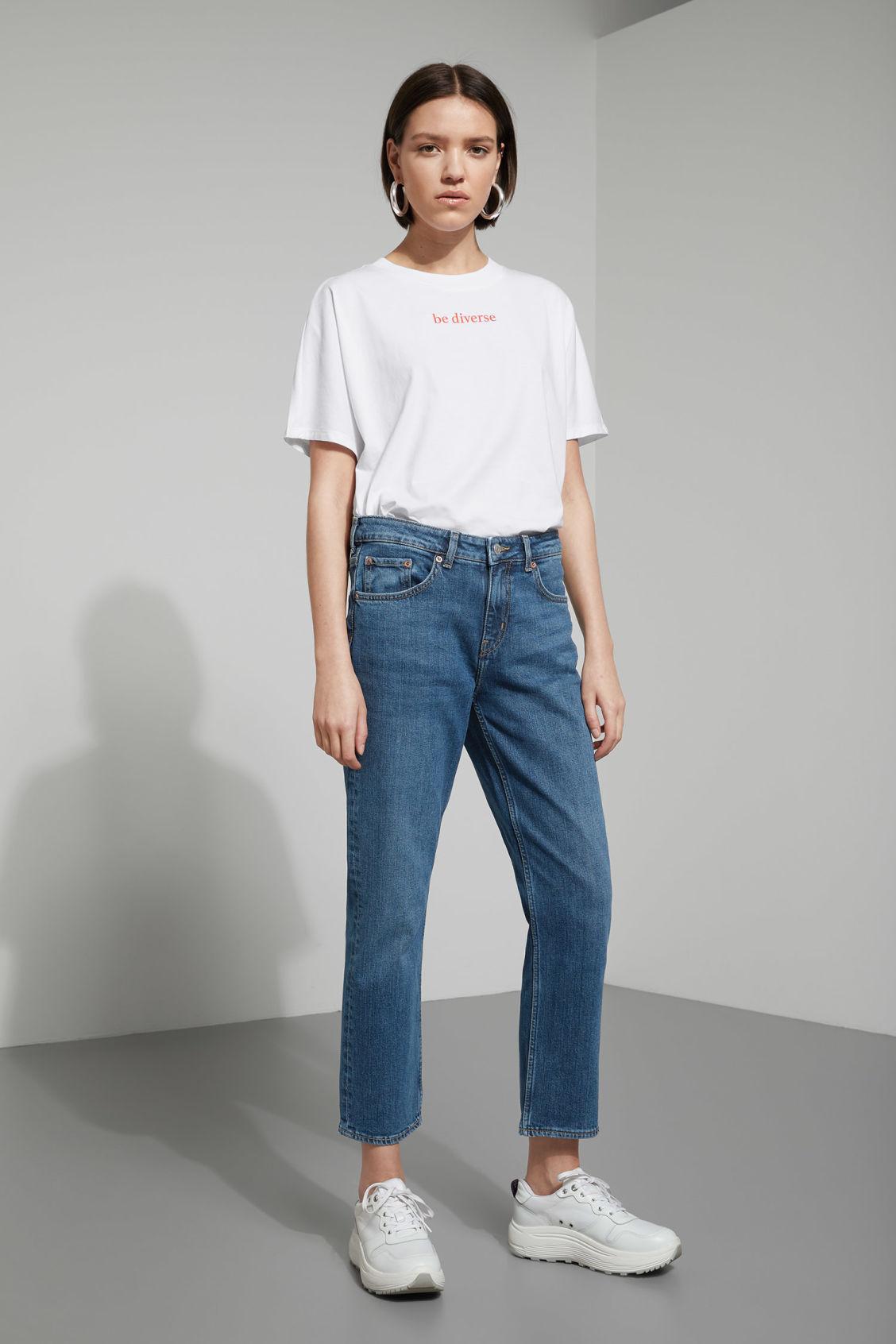 Weekday Ami Arizona Blue Jeans - Blue Vente Pas Cher En France CU1fRWogs