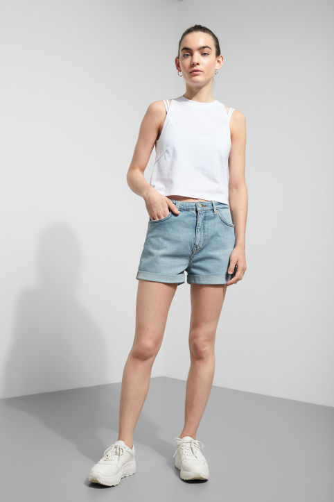 Weekday Newday Swish Blue Shorts