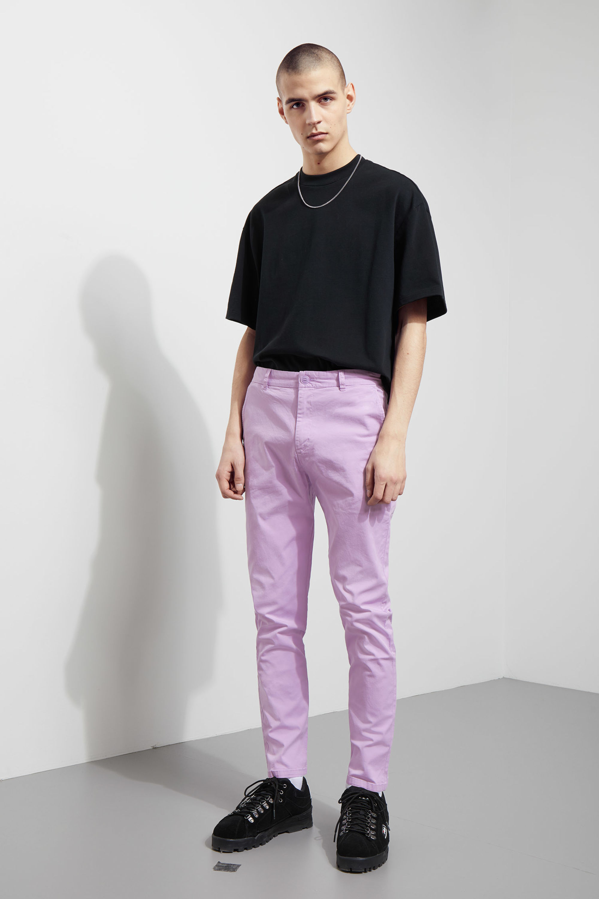 Weekday Forest Garment Dyed Chinos