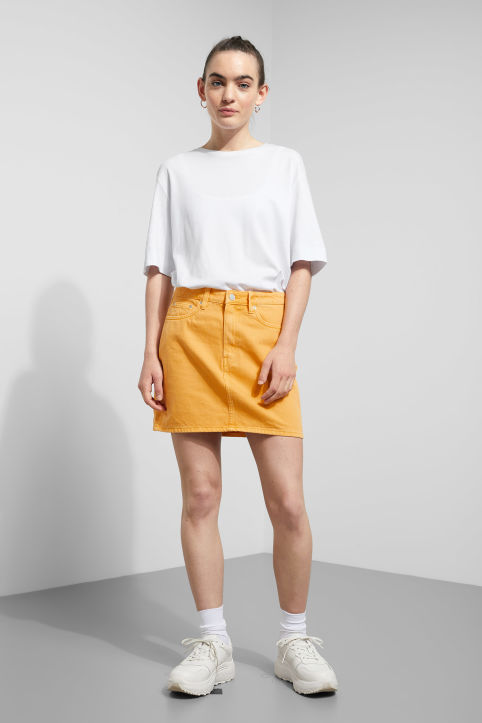 Weekday Wend Yellow Skirt