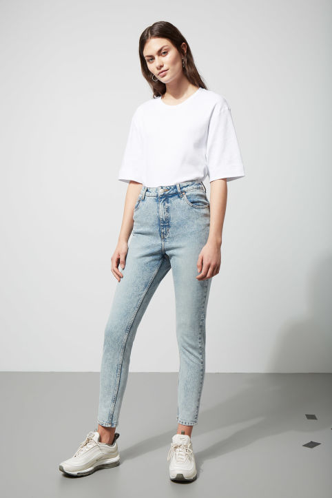 Cheap Monday Donna Ice Blue Jeans