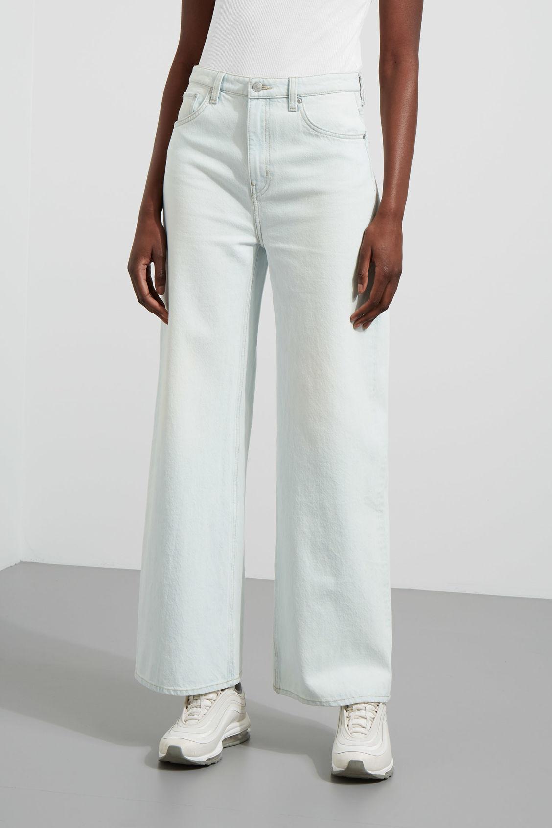 WeekdayACE - Flared Jeans - bleached standard fR1FS