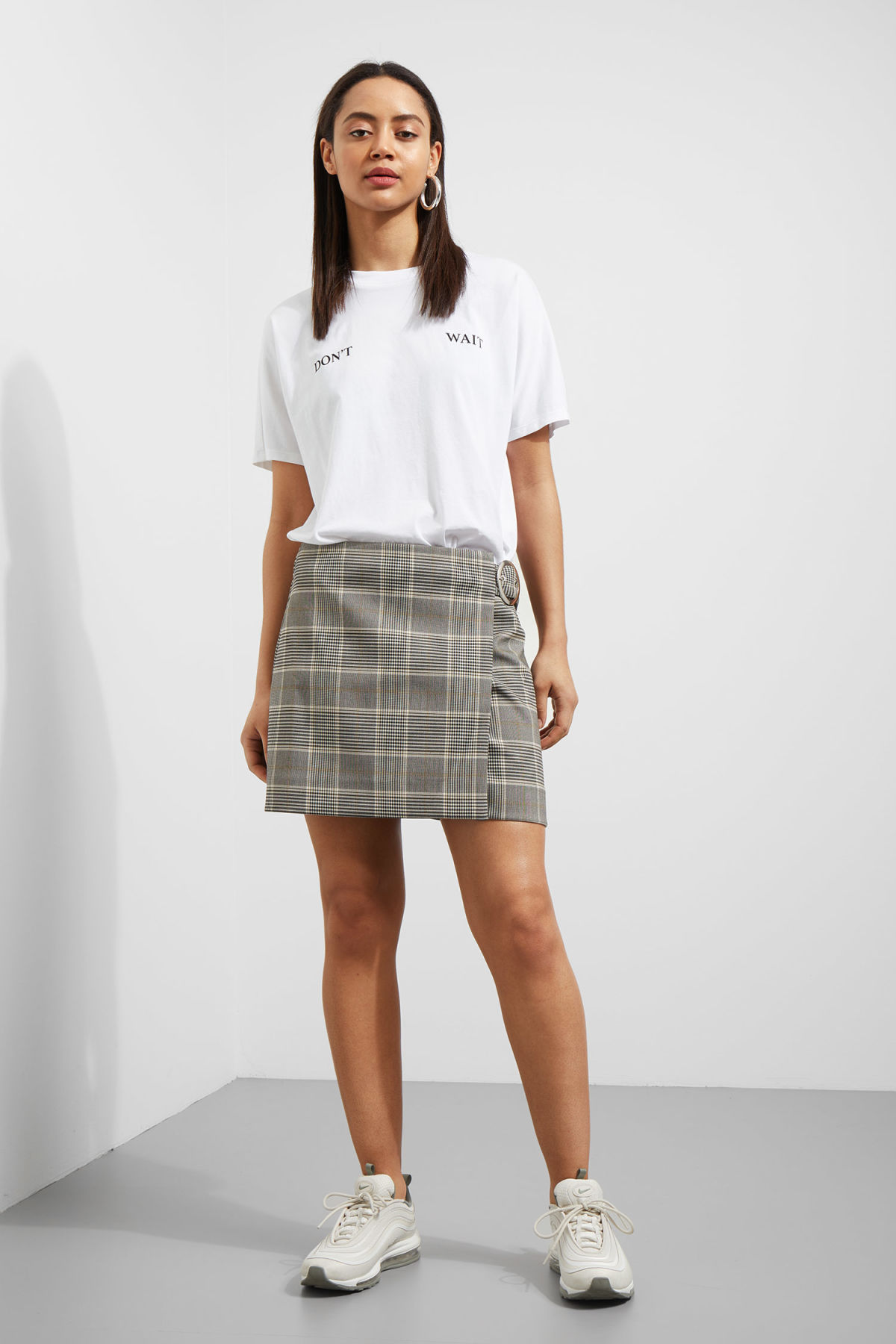Weekday Varnish Skirt - Beige Discount Shop Pre Order For Sale naP0g519