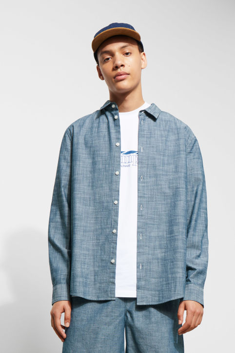 Weekday Lead Chambray Shirt