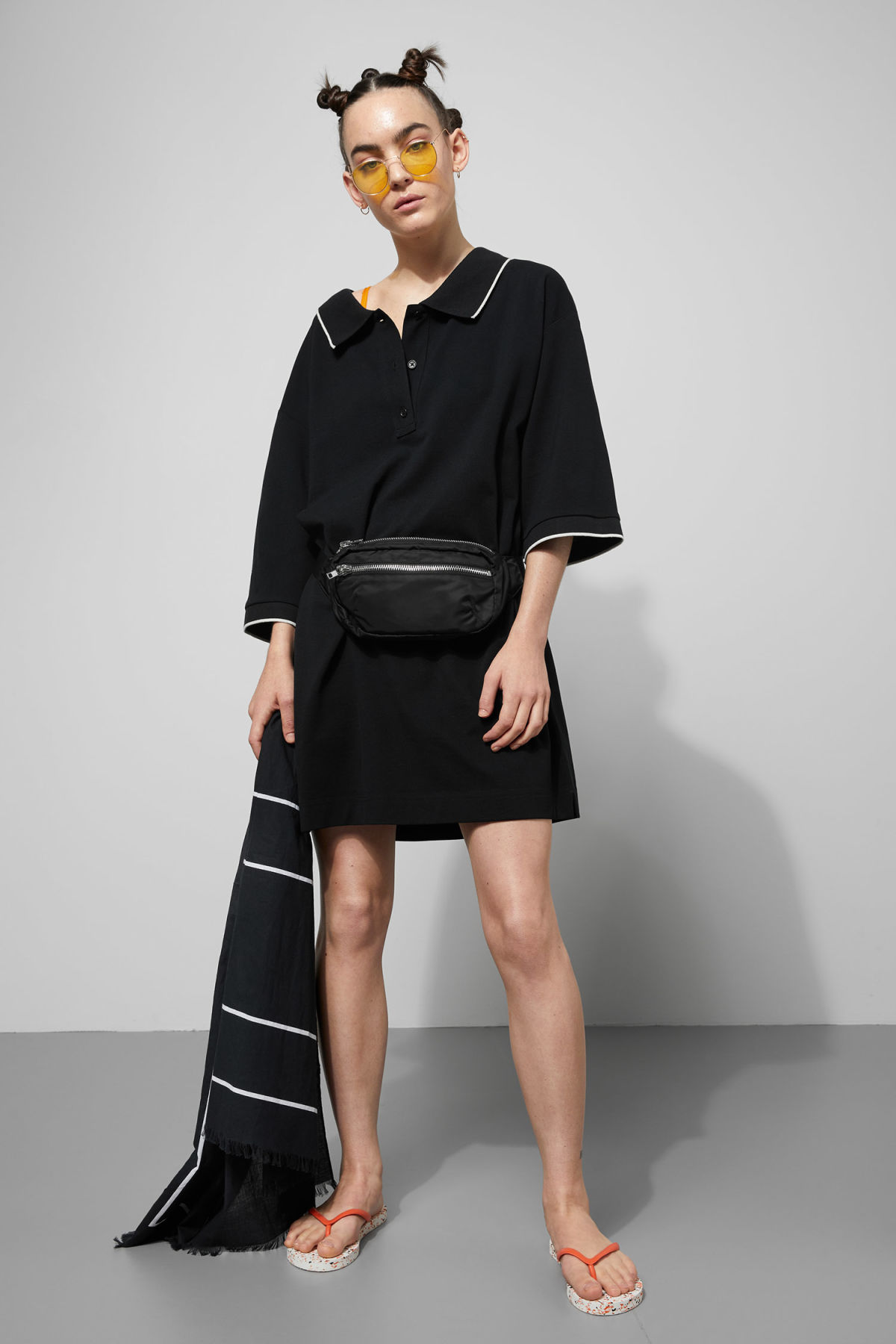 Weekday Dice Dress - Black Sale Shop Offer Cheap Sneakernews Free Shipping Classic Free Shipping Browse TdF3aSx7r