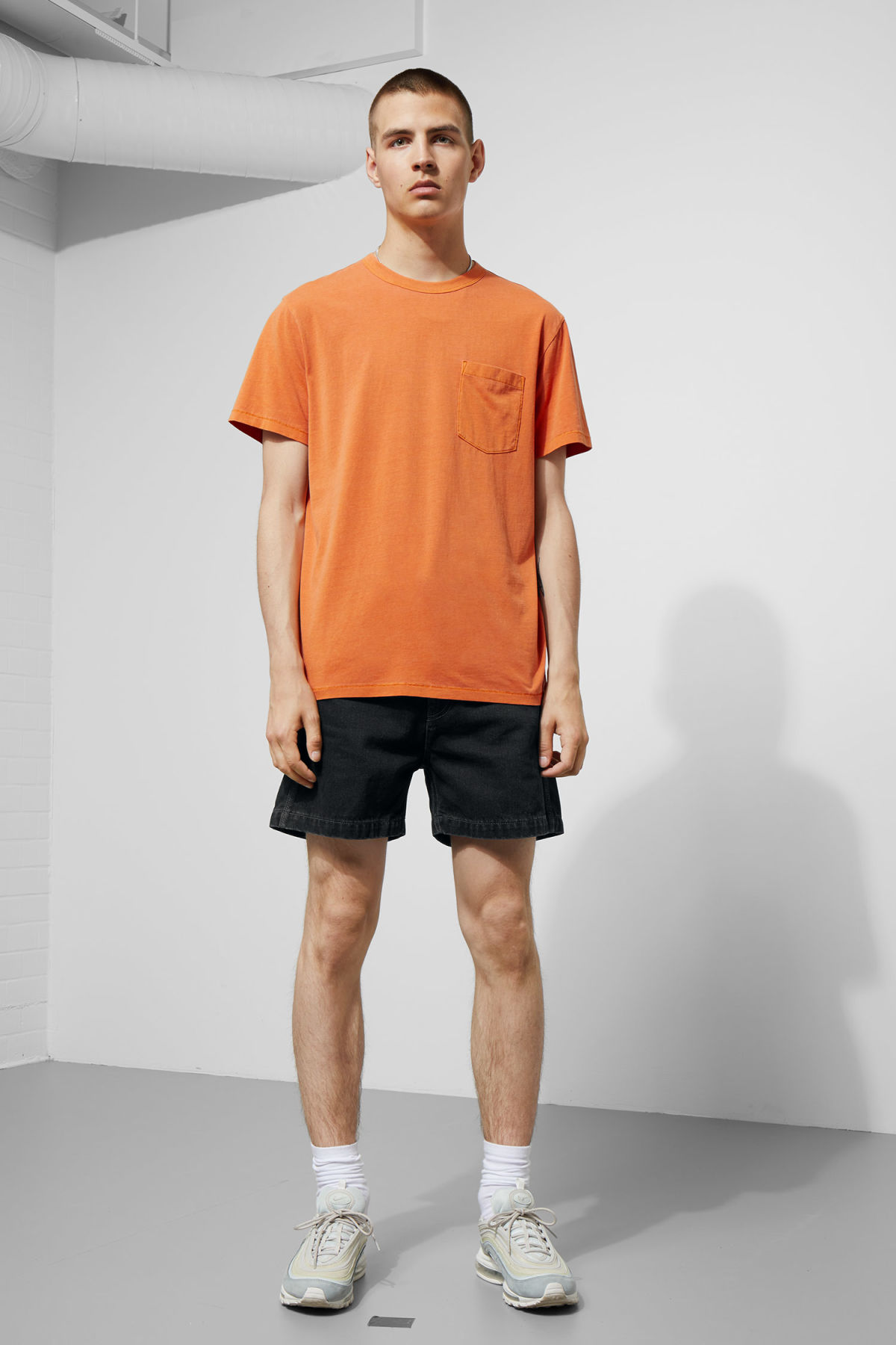 Model side image of Weekday  in orange