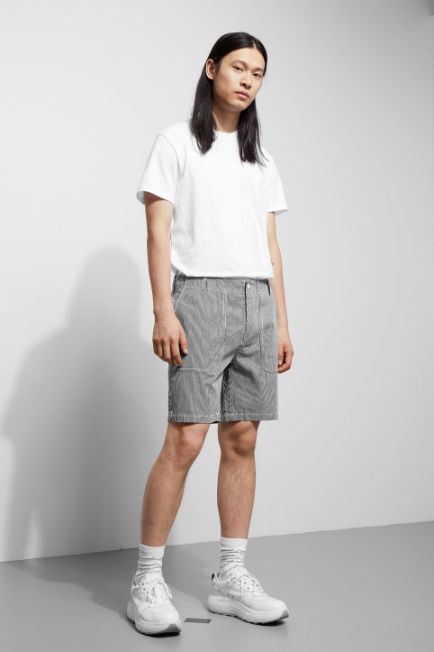 Weekday James Striped Shorts