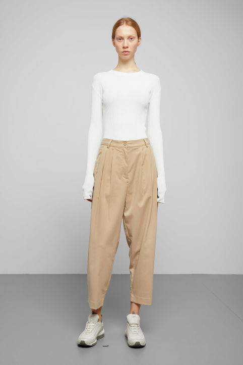 Weekday Milly Pleat Trousers