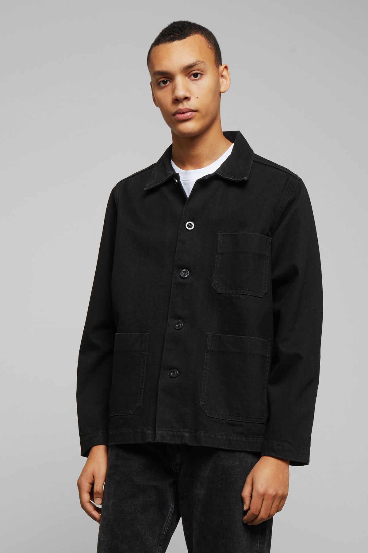 Model front image of Weekday  in black