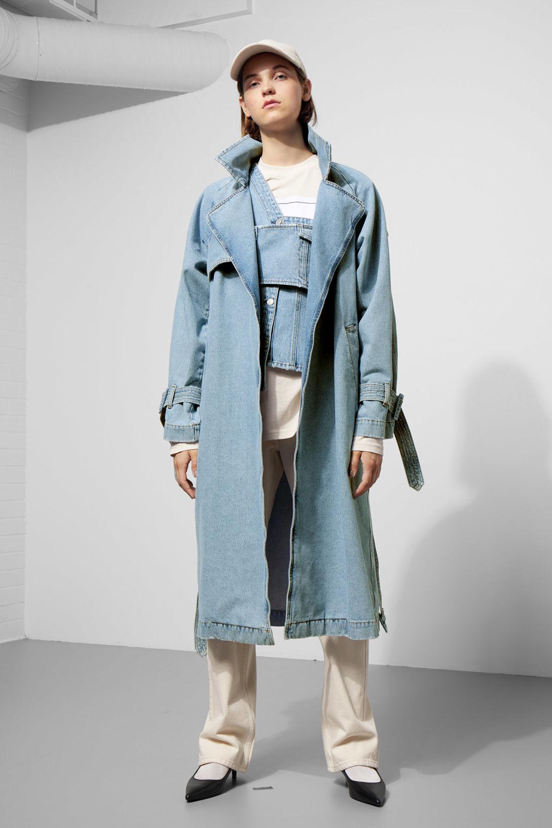 Coats Coat Blue amp; California Jackets Weekday Trench 8n5S1qBwBX