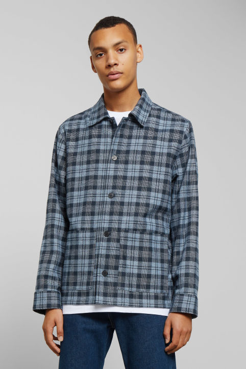 Weekday Genny Checked Overshirt