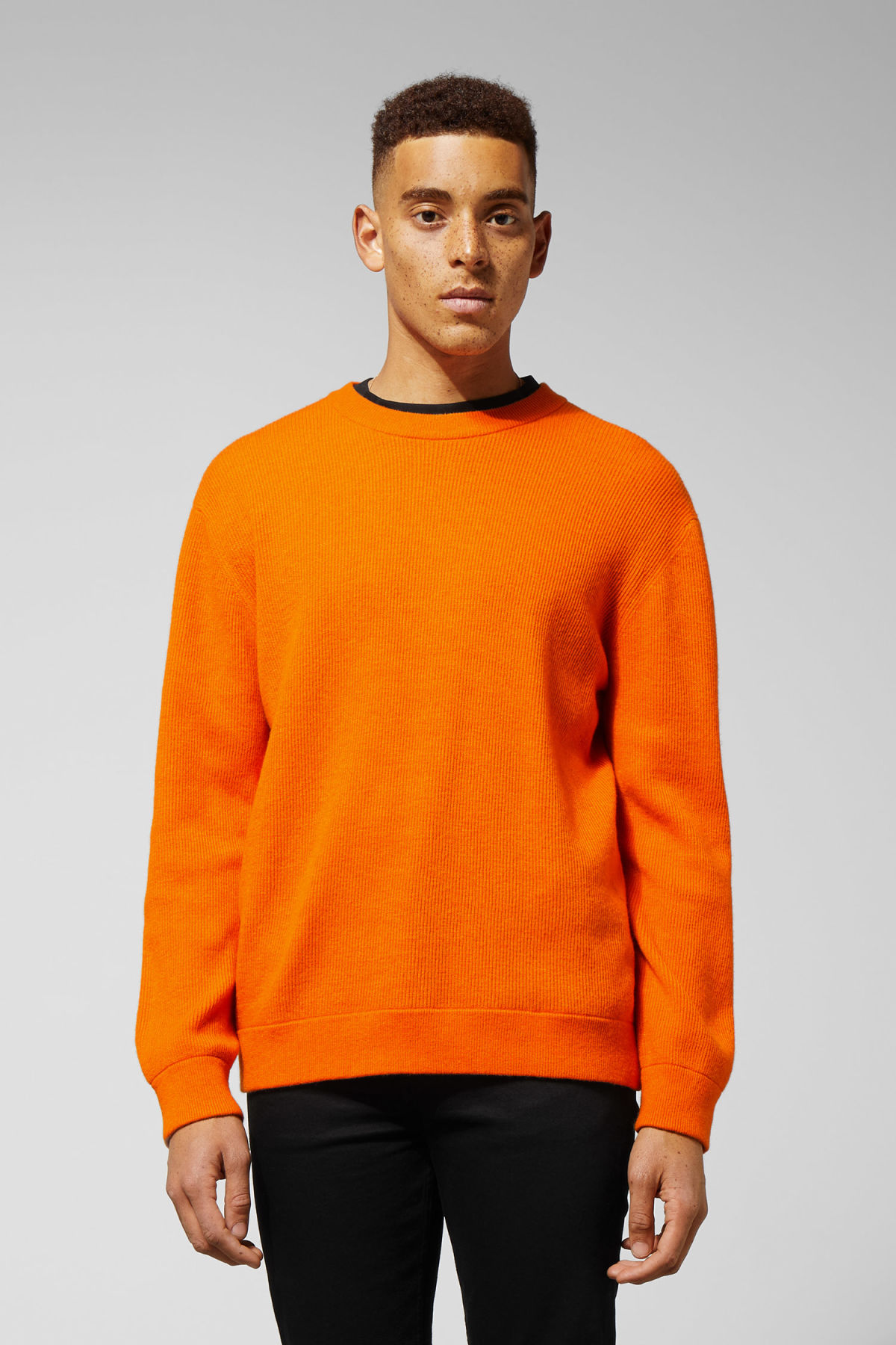 Model front image of Weekday  in orange