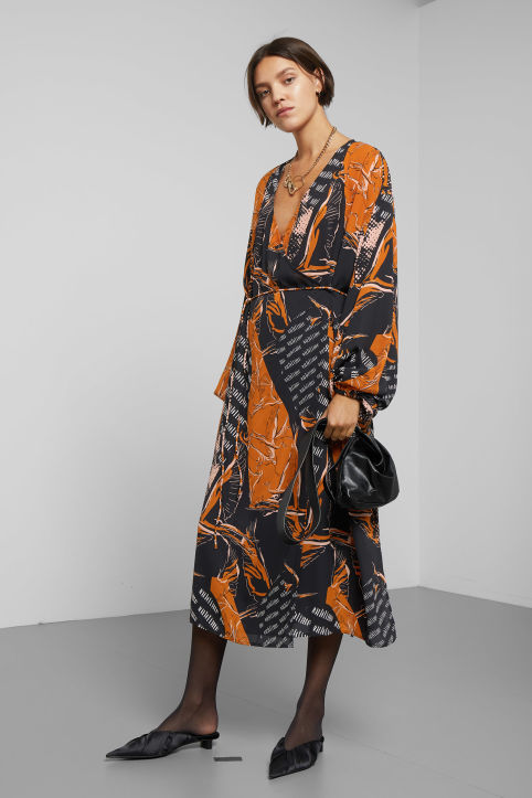 Weekday Arpa Print Dress