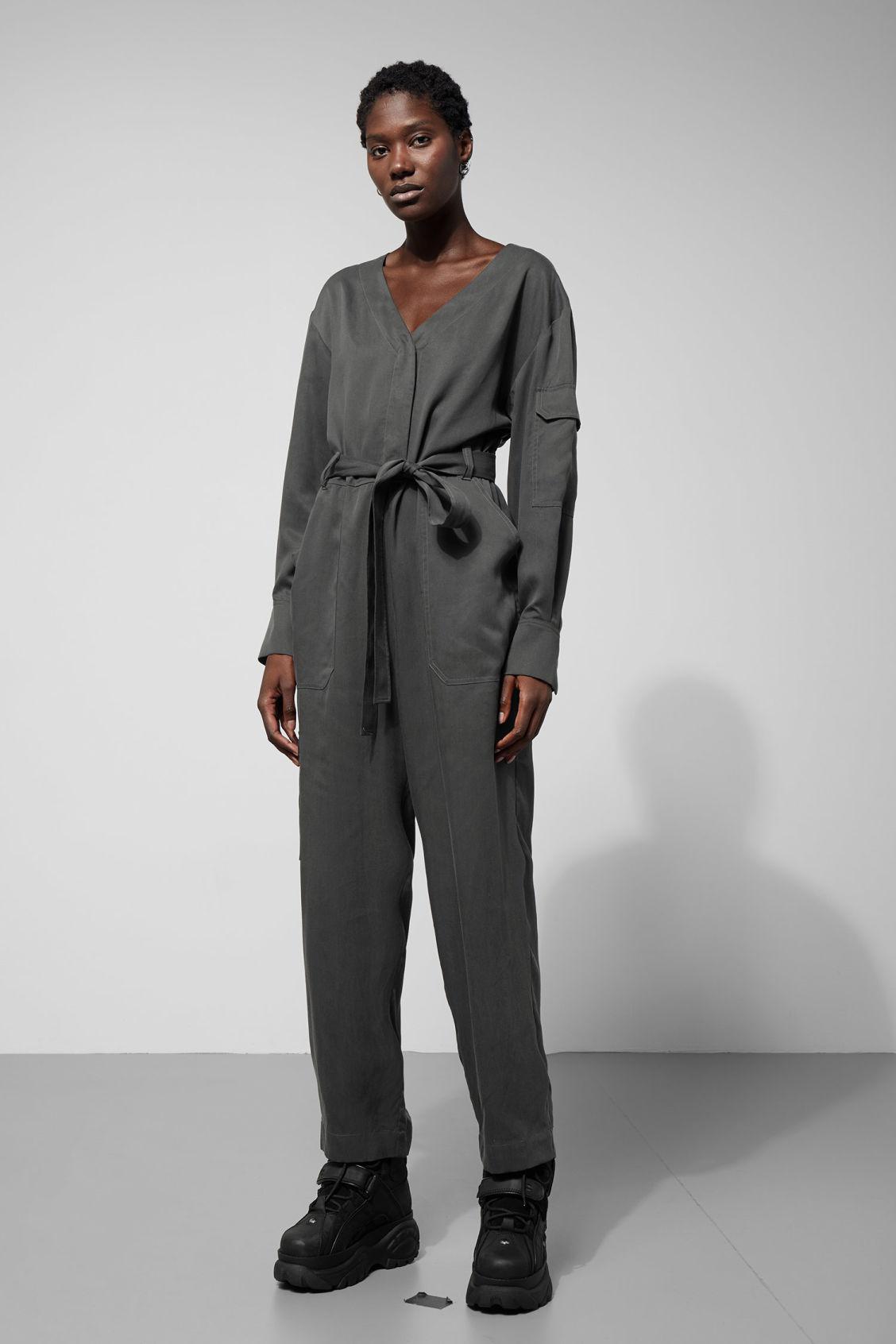 731ca1c443c Tempel Jumpsuit - Grey - Dresses   Jumpsuits - Weekday