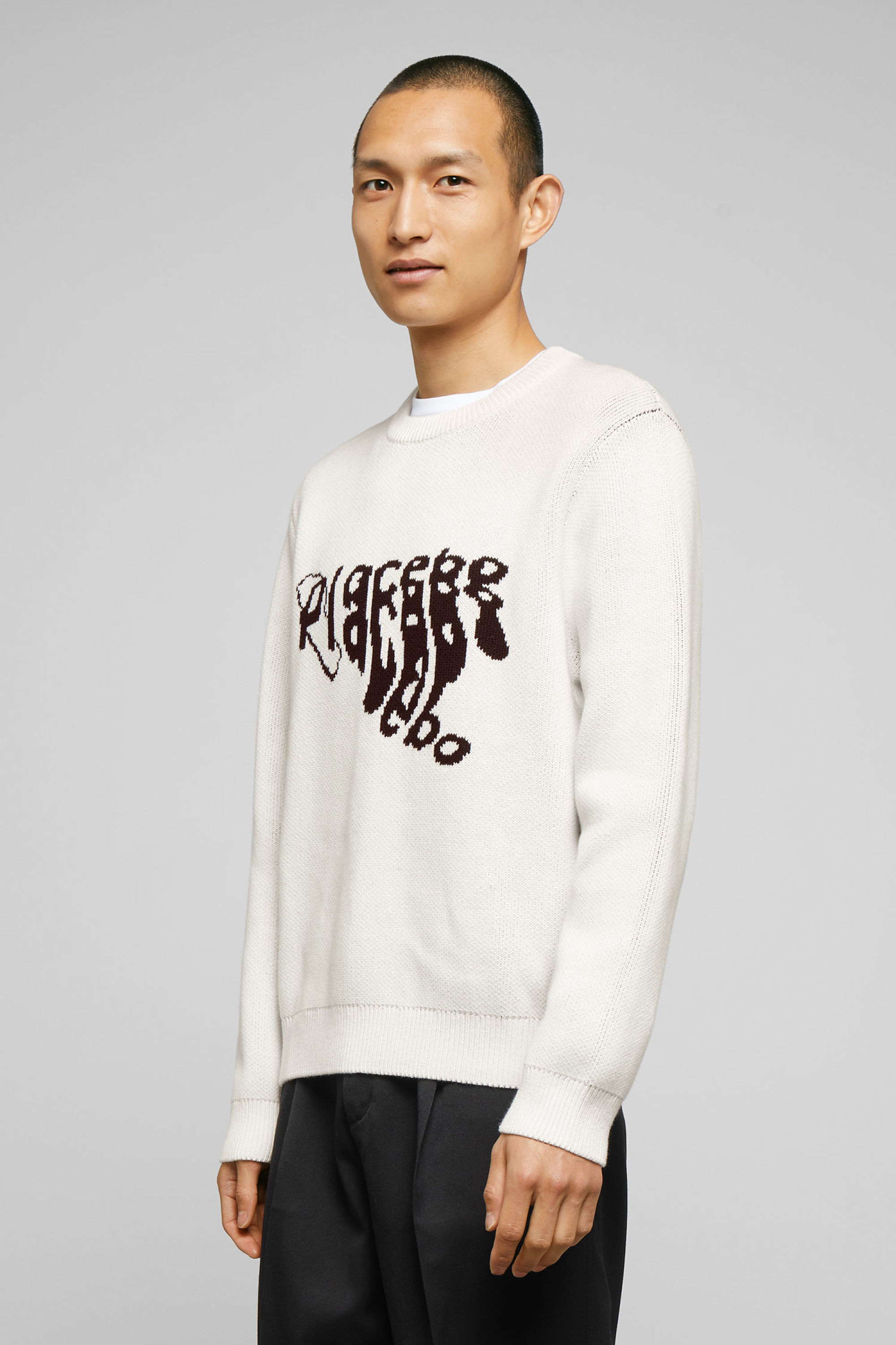 Weekday Johan Placebo Jaquard Sweater