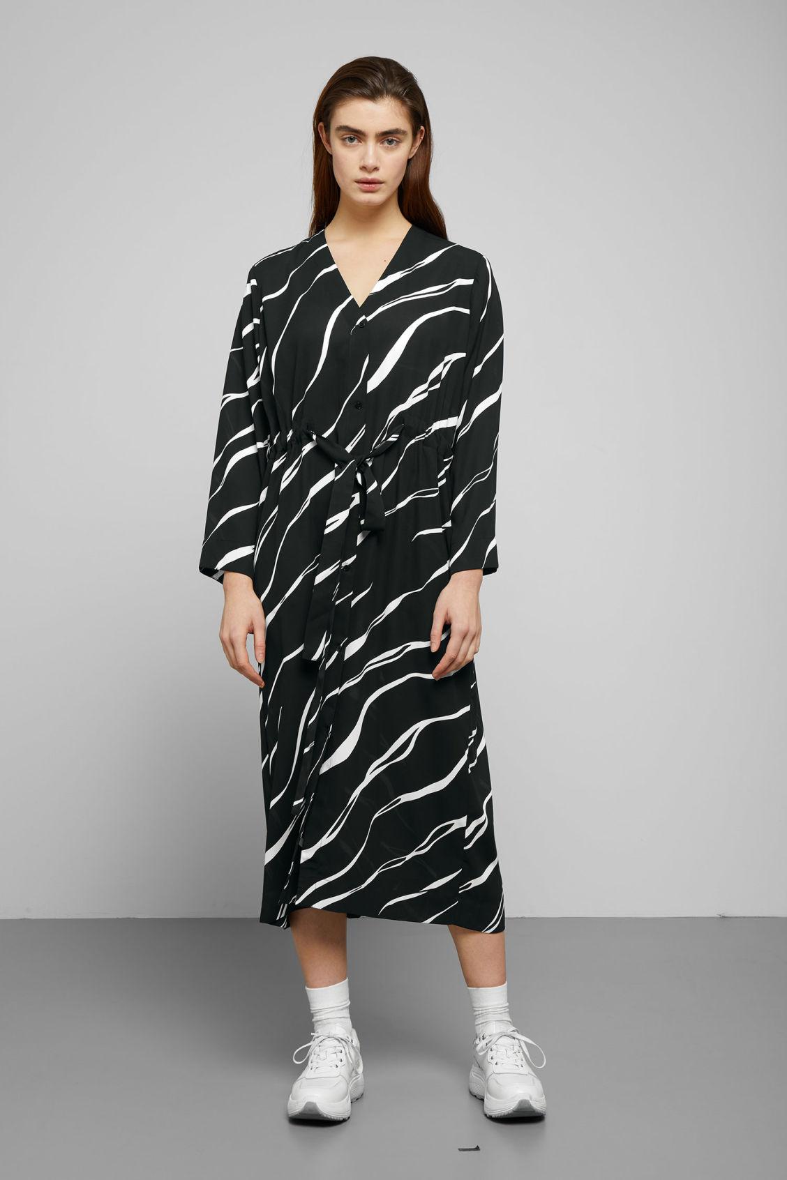 Weekday Sleeve Dressesamp; Chalk Dress Black Long Jumpsuits wPkuiZTOX