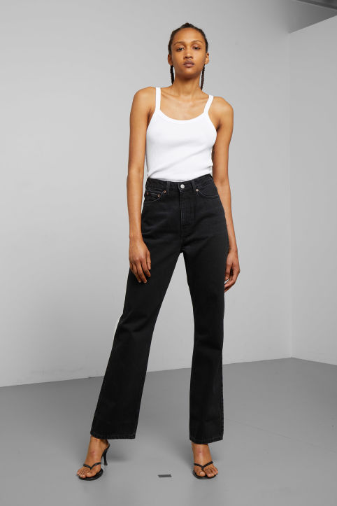 Weekday Row Echo Black Jeans