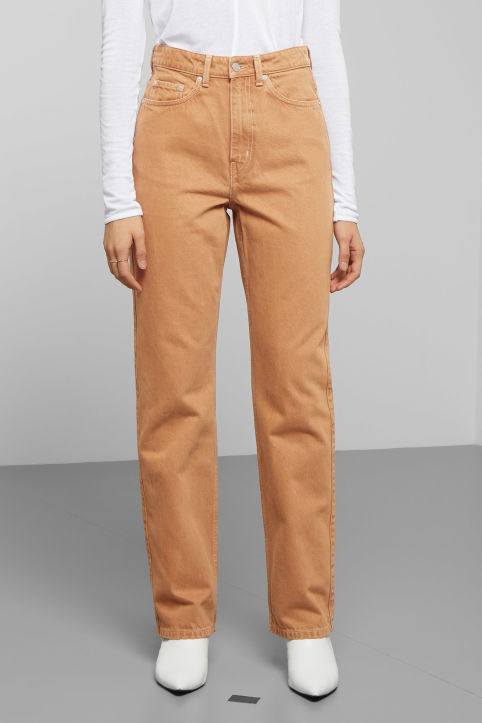 Weekday Row Camel Jeans