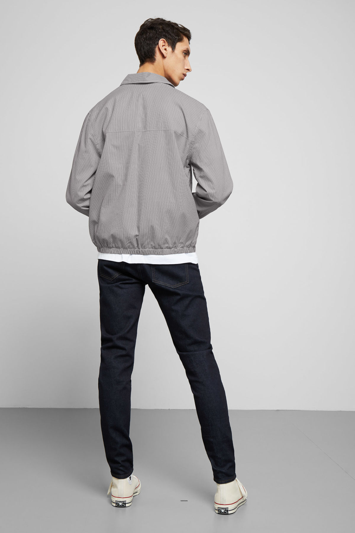 Model back image of Weekday  in white